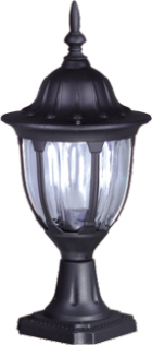 Niedrige externe schwarze Stehlampe K-5007S2 / N aus der Vasco-Serie
