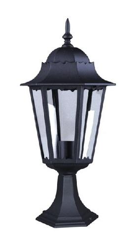 Niedrige schwarze Stehlampe K-5006S aus der LOZANA-Serie