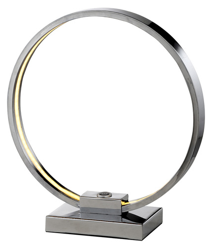Circle Cabinet Lamp 9W LED Chrom