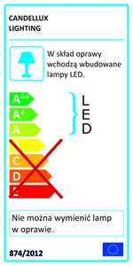 Lords Lamp Wandleuchte 1X6W Led Chrome small 1