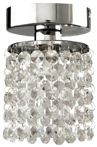 Royal Wandleuchte 1X40W G9 Chrom + Kristalle