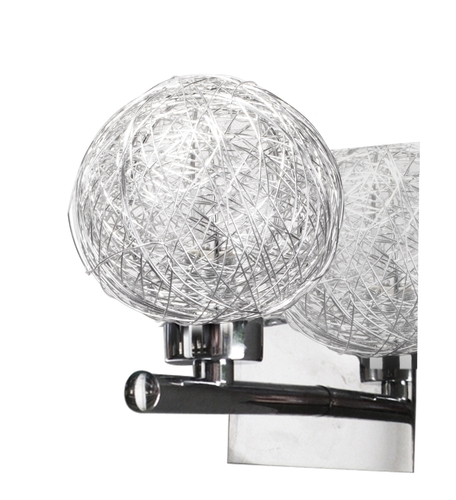 Sphere Lamp Wall 1X40W G9 Chrom