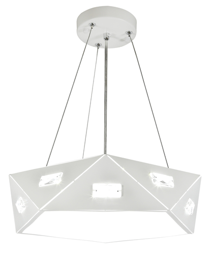 Nemezis Pendelleuchte 5-eckig 42 24W LED 4000K Weiß