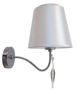 Ansa Lampe Wandleuchte 1X60W E27 Chrom small 0