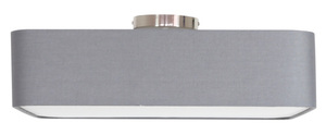 Hunts Pendelleuchte 50X50 4X40W E27 Grau small 0
