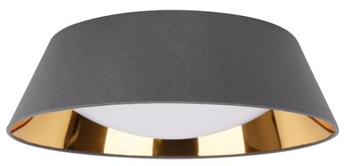Mola Deckenleuchte Plafond 43 16W Led 6500 K mit grauem Lampenschirm
