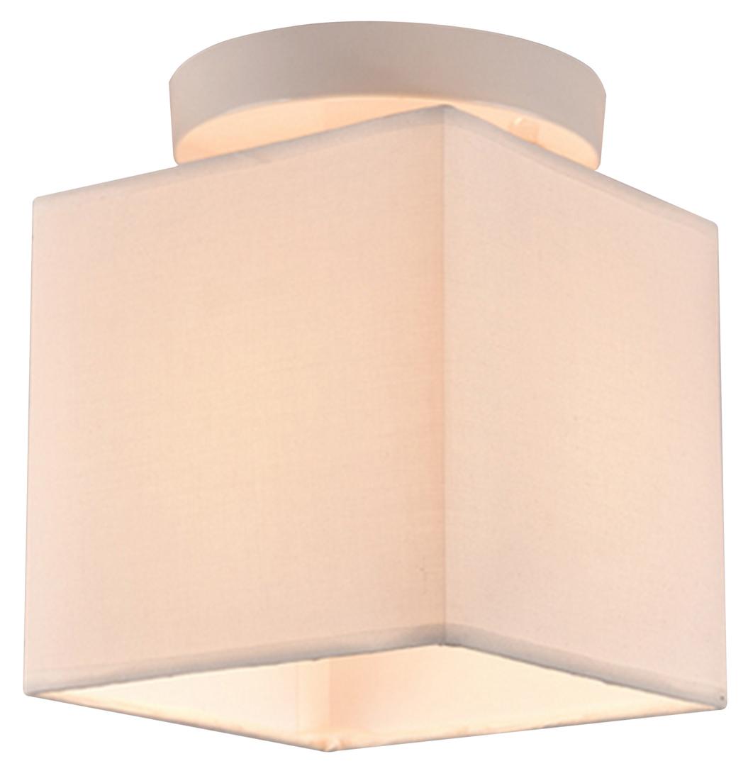 Boho Deckenleuchte 1X40W E27 Weißer Lampenschirm. Beige