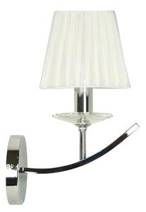 Valencia Lampe Wandleuchte 1X40W E14 Chrom 15X36 small 0