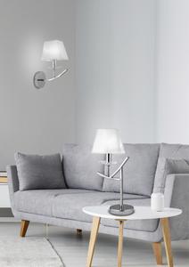 Valencia Lampe 1X40W E14 Chrom H-45 small 1