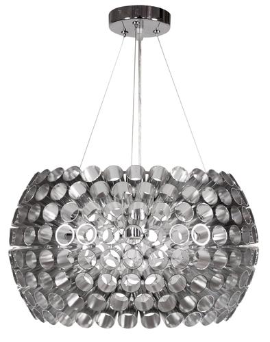 Abros Pendelleuchte 40 1X60W E27 Silber