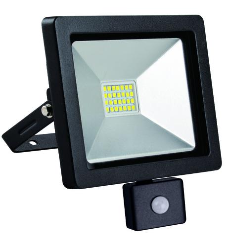 LED-Scheinwerfer schlank mit Bewegungssensor 20W / 230V 4000K PIR