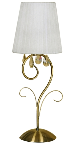 Dynasty Lampe 1X40W E14 Patina H-58