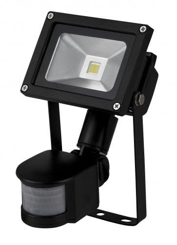 LED Fluter 10W / 230V 6400K mit Bewegungsmelder
