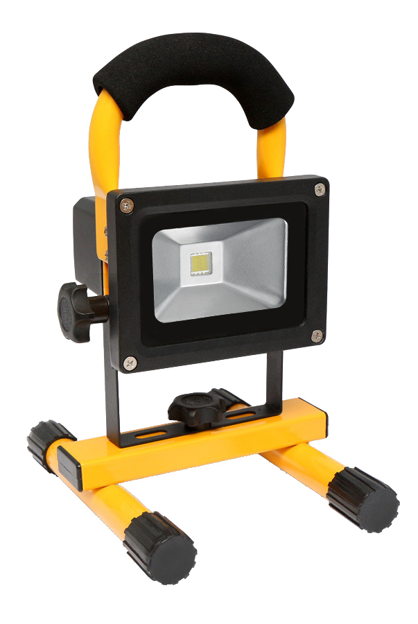 Portabler LED Fluter 10W 6400K mit Akku