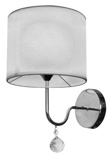 Brava Lampe Wandleuchte D-22 1X60W E27 Weiß