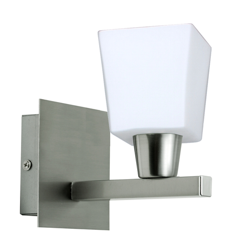 Maxim Lampenwand 1X40W E14 Nickel Mat