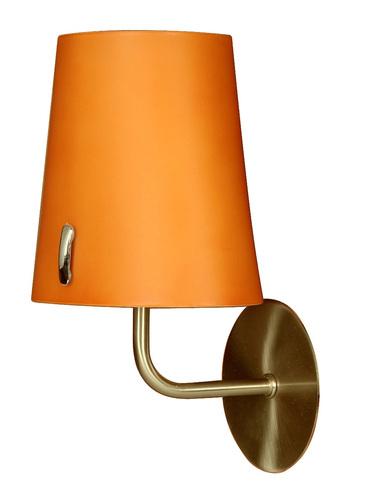 L & H Muscat Lampe Wandleuchte 1 * 40W E14 Patina