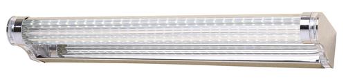 Moderno Lampe Wandleuchte 7W LED 40 cm polierter Edelstahl / Acryl