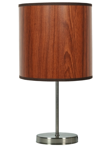 Holzschranklampe 1X60W E27 Eiche