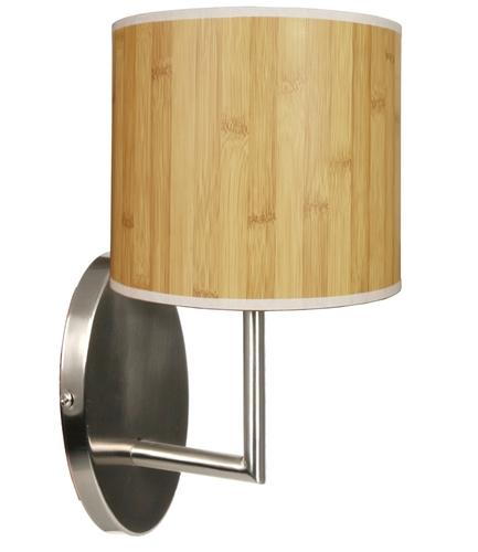 Holzlampe Wandleuchte 1X40W E14 Kiefer