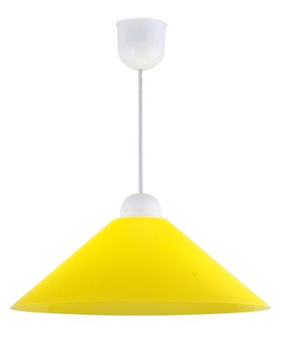 Sava Pendelleuchte Kunststoff E27 1X60W Gelb Promotion