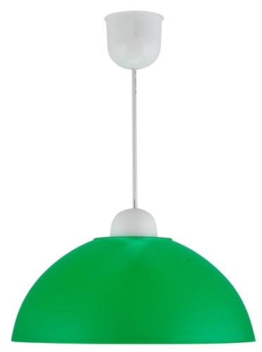 Mika Pendelleuchte Kunststoff E27 1X60W Green Promotion