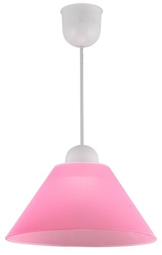 Fama Pendelleuchte Kunststoff E27 1X60W Pink Promotion
