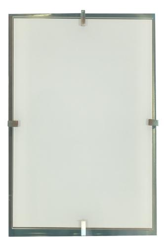Frena Deckenleuchte Plafond 40X20 2X60W E27 Satin