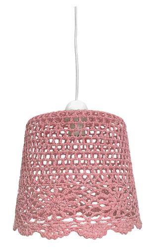 Nonna Hängelampe 27 1X60W E27 Pink