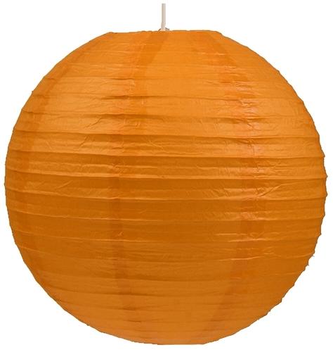 Papier Lampenschirm-Kokon Papierkugel 60 Orange