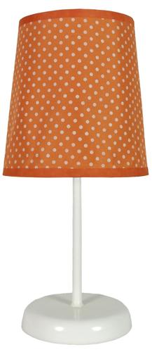 Gala Lampe 1x40W E14 Orange mit Punkten