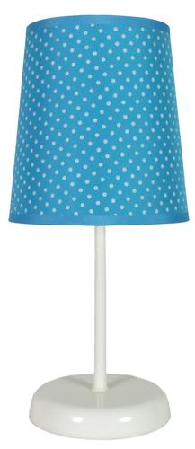 Gala Lampe 1x40W E14 blau gepunktet