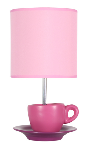 Zinkschranklampe 1X60W E27 Pink