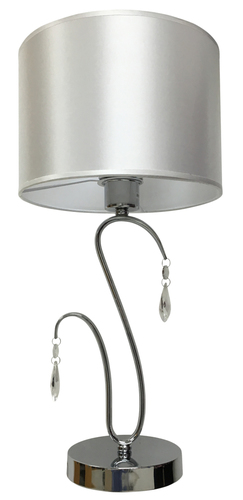 Carmen Schranklampe 1X60W E27 Chrom