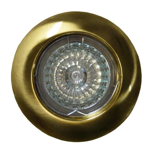 Mobiler Spot MR16 aus poliertem Gold