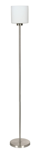Visola Stehleuchte mit Aus 1X60W E27 Nickel Mat