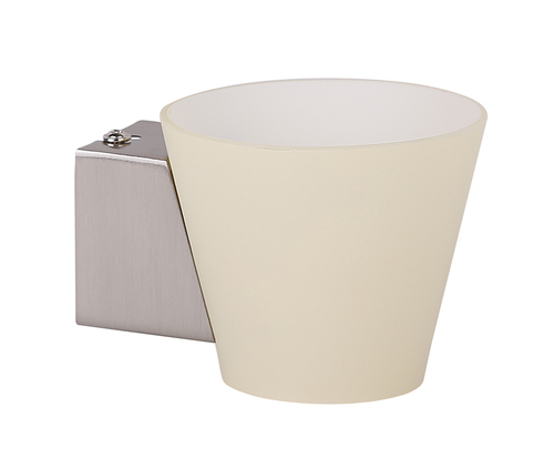 Simonet Wandleuchte Single G9 40W Cone White