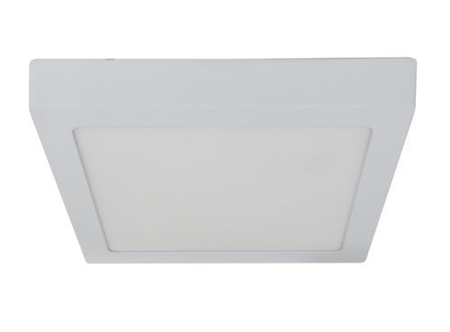 Spn-07 Wh 12W LED 230V Deckenleuchte LED-Panel Feste quadratische Oberfläche