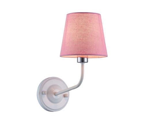Wandleuchte York 1 White Pink
