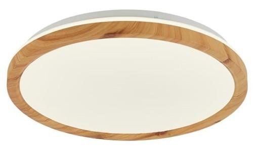 Kato 500 mm 1 Deckenleuchte, weißes und helles Holz