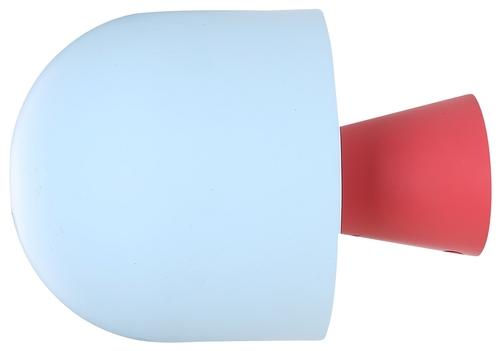 Visby 1 Wandleuchte Blau Rot