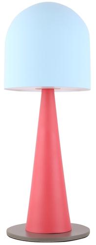 Visby 1 Tischlampe Blau Rot