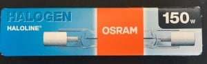 OSRAM R7s 150W 78mm Halogenfaden small 1
