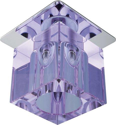 Sk-19 Ch / Pu-P G4 Chromoberfläche Decke Fest Kristall 20W G4 Violettband