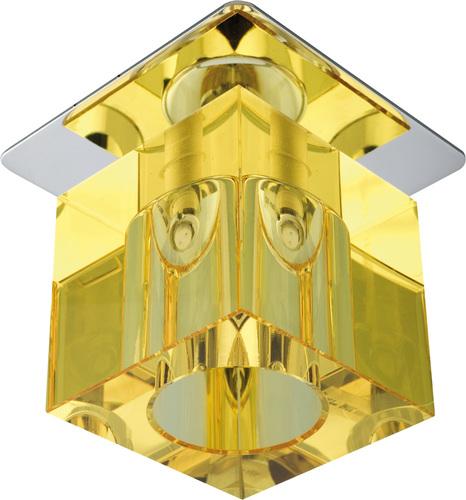 Sk-19 Ch / Ye G4 Chromspülung Decke Konstanter Kristall 20W G4 Gelb