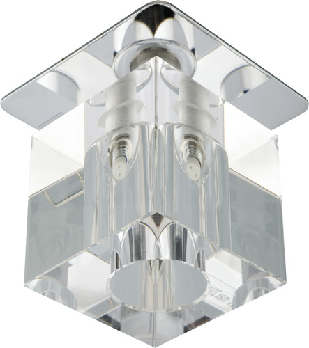 Sk-18 Ch / Wh G4 Chrom Unterputzdecke Fest Kristall 20W G4 Transparent