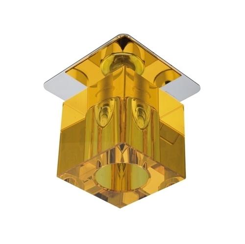 Sk-18 Ch / oder G4 Chrom Finish Decke Fest Kristall 20W G4 Orange