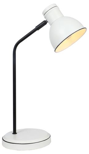Zumba Cabinet Lamp Sattelstütze Gerade 1X40W E14 Weiß + Schwarz