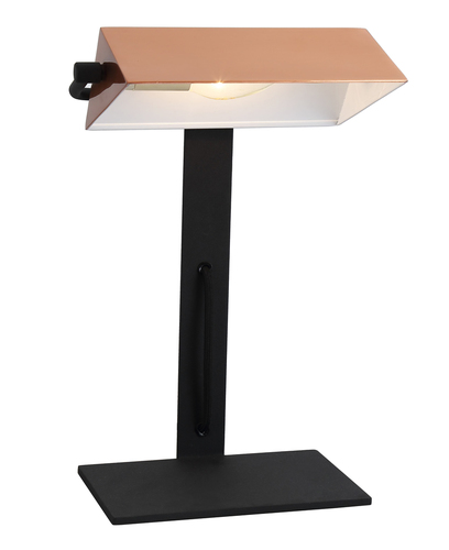 Banker Cabinet Lamp 1X40W E14 Kupfer