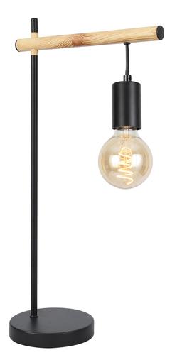Izzy Schranklampe 1X60W E27 Schwarz